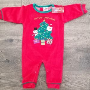 My First Christmas One Piece Outfit 12 month